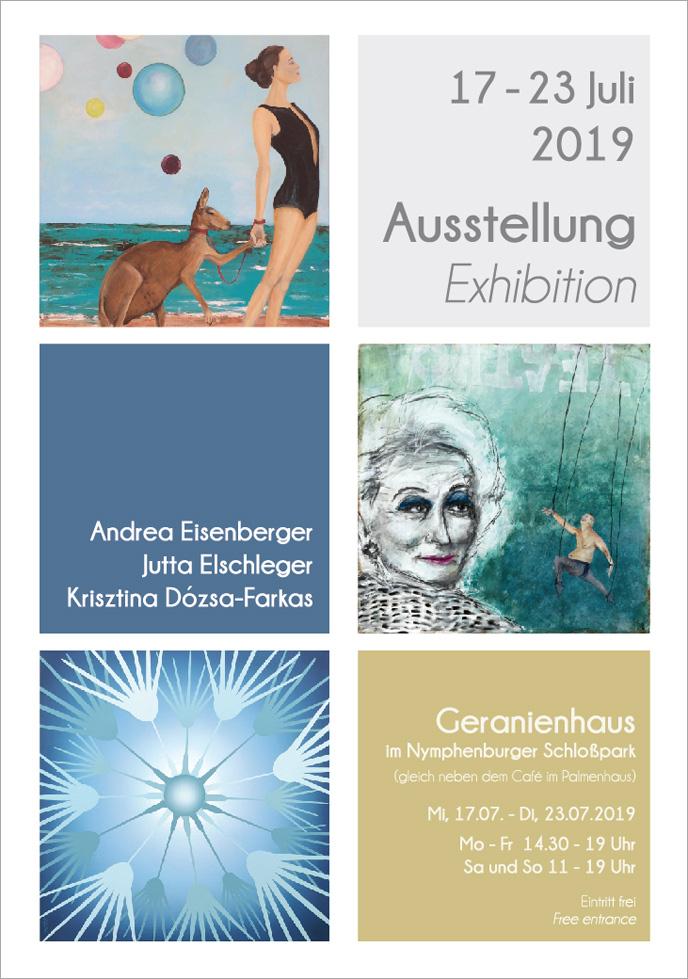 Ausstellung im Geranienhaus im Nymphenburger Schloßpark